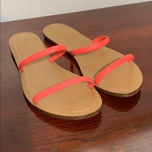 Shoes - J. Crew women's slides sandals size 10 VGC